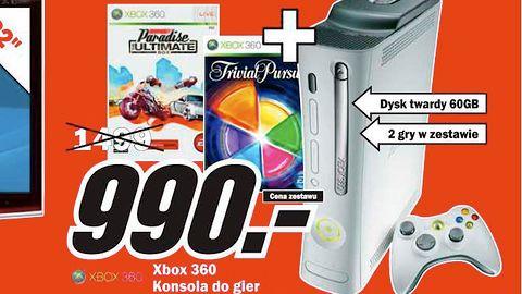 Wyprzedaż Xbox 360 Pro w Media Markcie