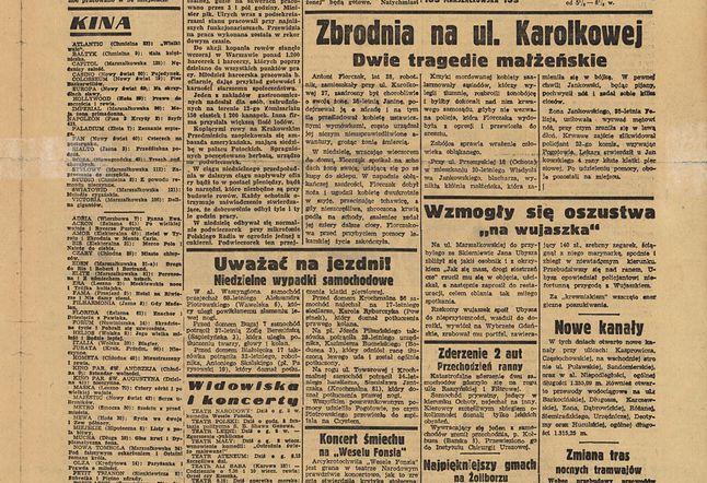 Goniec Warszawski z 28 sierpnia Biblioteka Narodowa