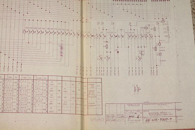 Fragment dokumentacji Odra 1304.