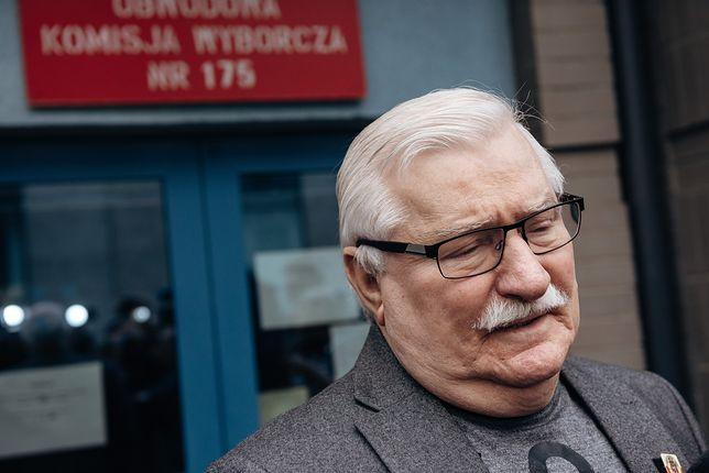 Wcześniej atak na Lecha Wałęsę komentowała posłanka PiS Joanna Lichocka