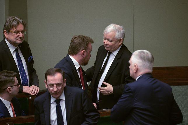 Jarosław Kaczyński stanął w obronie Łukasza Szumowskiego