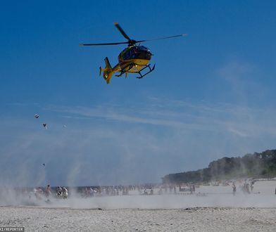 Tragedia na plaży w Sztutowie. Ratował 12-latkę. Sam zginął na oczach rodziny