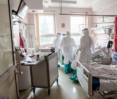 Koronawirus w Polsce. Trudna sytuacja w szpitalach. Chodzi o pięć województw