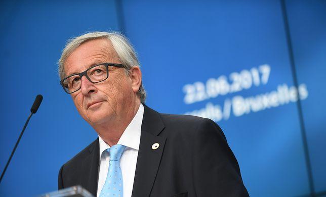 Szef Komisji Europejskiej Jean-Claude Juncker