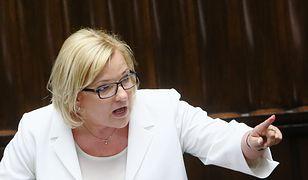 Bardzo emocjonalnie zareagowała Beata Kempa na zarzuty ze strony polityków PO