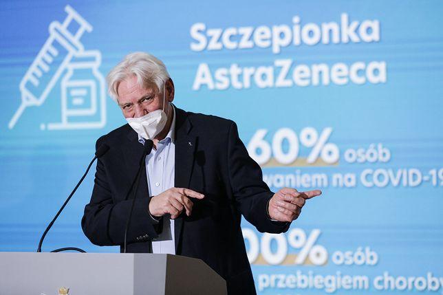 Prof. Andrzej Horban narzeka na brak maseczek. Rzeczywiście państwowa fabryka nie rozpoczęła ich produkcji