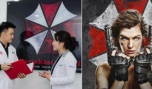 """Wietnamska klinika wykorzystała logo złowieszczej korporacji z """"Resident Evil"""""""