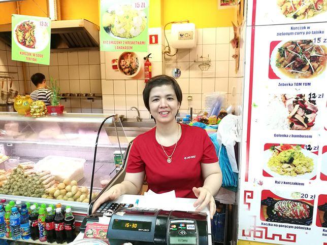 Wietnamska restauracja na targowisku Marywilska 44