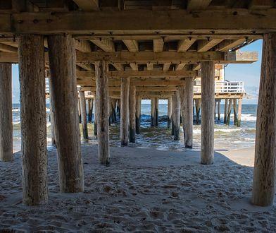 Ustronie Morskie ma piękną plażę, chętnie dowiedzaną przez turystów