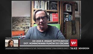 Agnieszka Holland odpowiada Jarosławowi Sellinowi ws. Oscarów