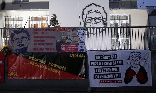 """Historia Jolanty Brzeskiej stała symbolem """"dzikiej reprywatyzacji"""""""