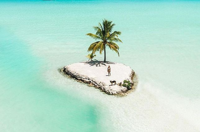 Lonely Island na Bora Bora