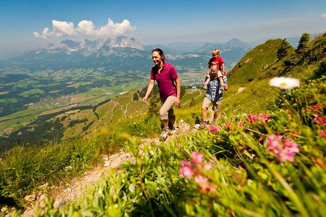 Wakacje w Austrii - sport i zabawa w Alpach Kitzbühelskich