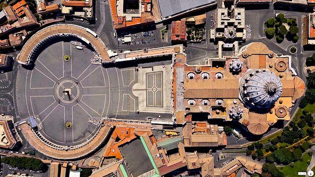 Plac i Bazylika św. Piotra, Watykan, Włochy