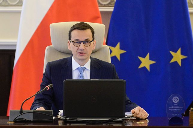 """Morawiecki wspomina Jana Pawła II. """"Jego słowa to dewiza naszego rządu"""""""