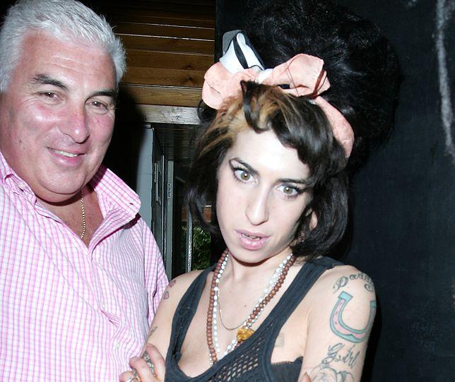 Amy Winehouse z ojcem w 2008 r.