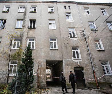Kamienica przy ul. Siedleckiej 34 - po wybuchu gazu