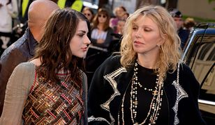 Courtney Love z córką, Frances Bean Cobain