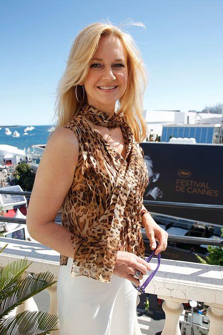 Grażyna Torbicka w Cannes w 2011 roku