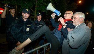 Nocny protest przed Sejmem. Są wnioski o ukaranie demonstrantów