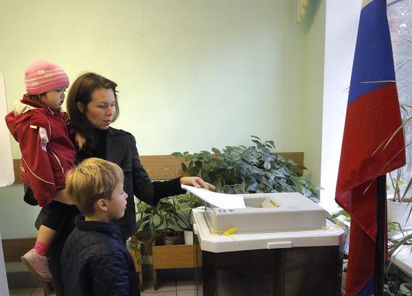 Faworytem w walce o ponad 40 tysięcy mandatów była Jedna Rosja