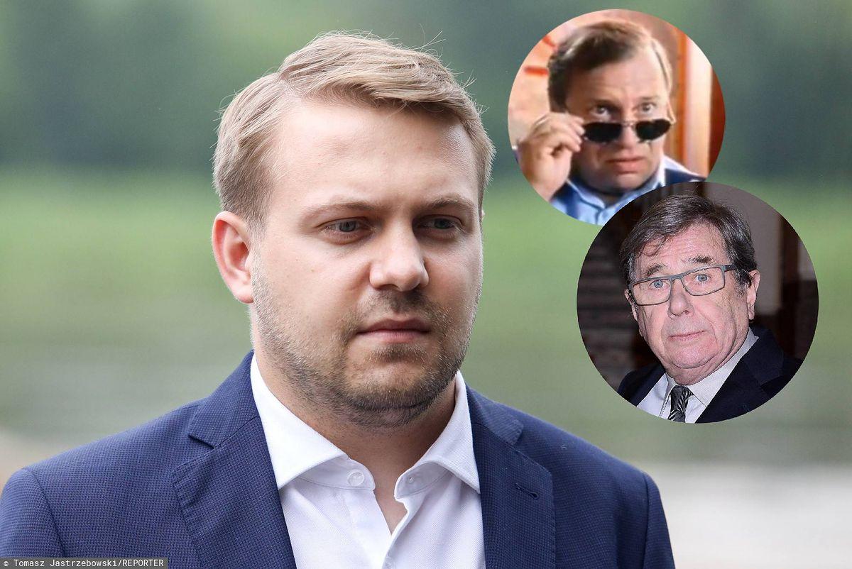 """Jacek Ozdoba krytycznie o słowach Janusza Gajosa. """"Wolę go jako komisarza Rybę"""""""