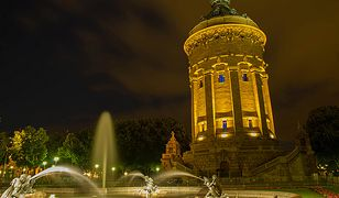 Fontanna w Mannheim to jeden z najlepiej rozpoznawalnych zabytków miasta