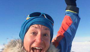 Johanna Davidsson – szwedzka pielęgniarka pobiła rekord na biegunie południowym