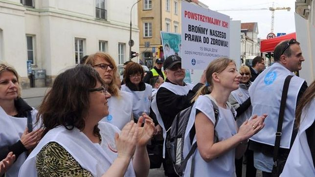 Przedstawiciele służby zdrowia szykują wielką manifestację w stolicy