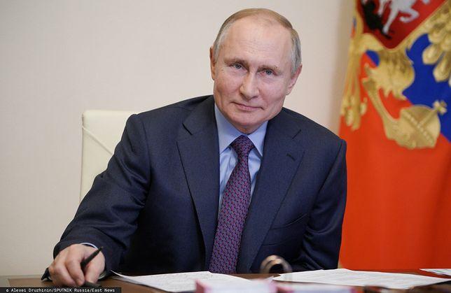 Władimir Putin przyjął szczepionkę na COVID-19