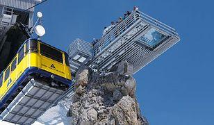 Austria. Alpy. Podniebny most