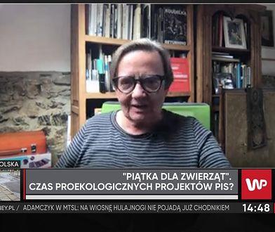 Agnieszka Holland chwali Jarosława Kaczyńskiego