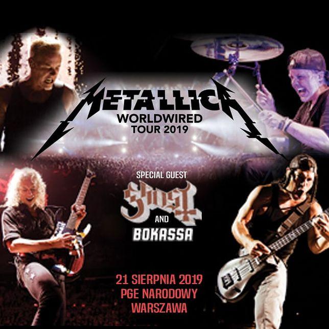 Metallica na Stadionie Narodowym już 21 sierpnia