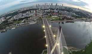Most Świętokrzyski okiem drona [WIDEO]