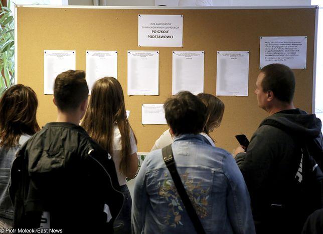 Rekrutacja do szkół średnich. Problemy z wizytami u lekarza medycyny pracy