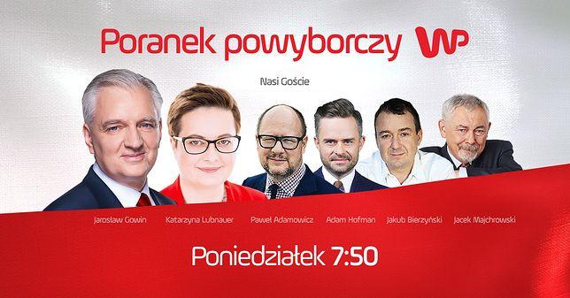 Poranek powyborczy w Wirtualnej Polsce