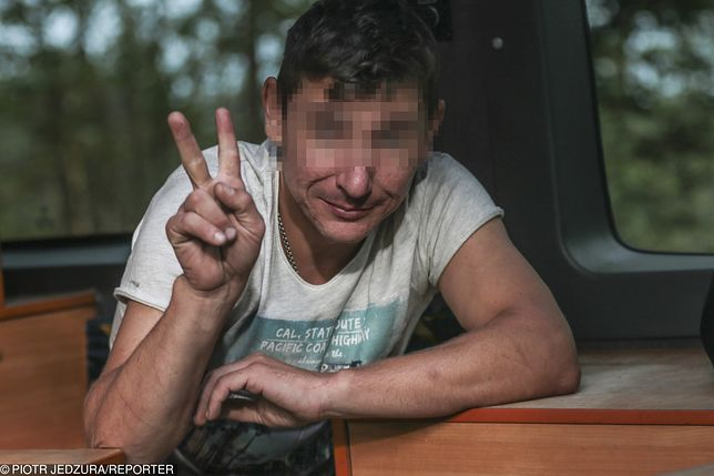 Ukrainiec śmiał się podczas zatrzymania