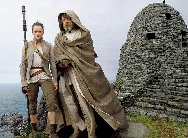 "Kadr z filmu ""Ostatni Jedi"""