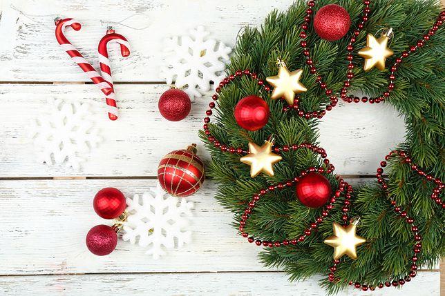 Niektóre ozdoby świąteczne możesz przygotować samodzielnie