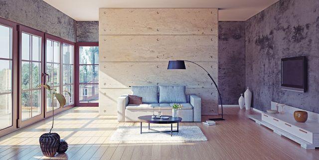 Beton jako dekoracja wnętrz