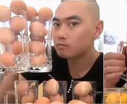 100 jaj w minutę. Miliony widzów oglądały, jak pobija rekord