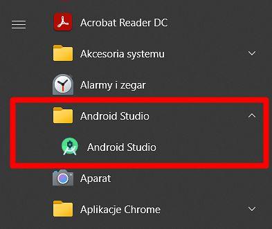 Obecnie Windows 10 nie zwraca uwagi na liczbę skrótów danej aplikacji i nawet pojedyncze umieszcza w folderach, fot. Oskar Ziomek.