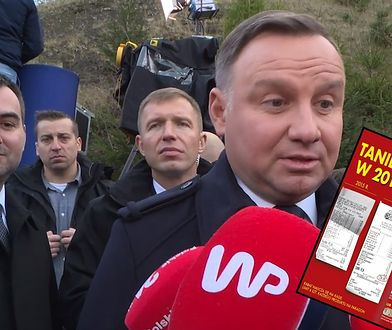 Andrzej Duda za swoje zakupy zapłacił w 2015 r. 37 zł. Teraz klienci Biedronki zapłacą za nie 29,99 zł.