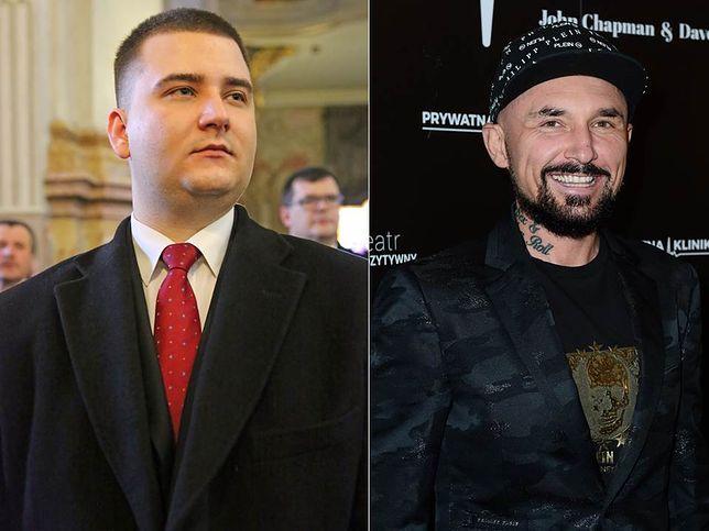 Bartłomiej Misiewicz i Patryk Vega