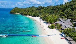 Widok na plażę na Phuket