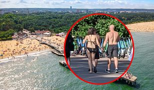 Golasy na ulicach. Turystom nad polskim morzem puszczają hamulce