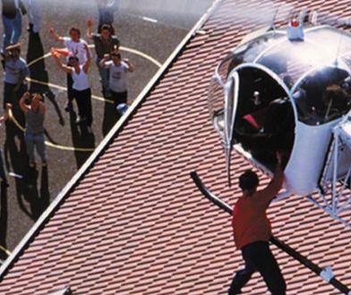 Michel Vaujour - przestępca, który uciekł z więzienia... helikopterem