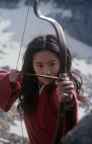 Kadr z filmu Mulan