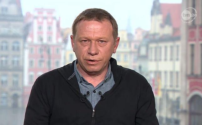 """Grzegorz Głuszak jest dziennikarzem """"Uwagi"""" i """"Superwizjera"""" TVN"""