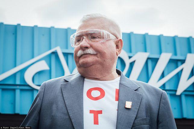 Były prezydent Lech Wałęsa (zdj. arch.)